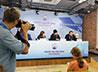 Преосвященный Евгений принял участие в пресс-конференции в Доме журналиста