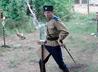 Казаки хутора «Кольцово» готовятся к соревнованиям по рубке шашкой