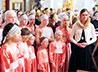 Продолжается подготовка к XII фестивалю детских хоровых коллективов в честь св. вмц. Екатерины