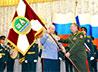 В штабе УрРК ВВ МВД прошла торжественная церемония передачи штандарта командующего войсками