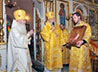 Епископ Шадринский и Далматовский Владимир преподнес в дар Каменской епархии образ сщмч. Аркадия Гаряева