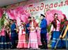 Казаки хутора «Таутский» поздравили жителей п. Моторный с Днем поселка