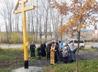 В Верхнем Тагиле на месте разрушенного Ильинского храма освятили поклонный крест