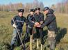 Тавдинские казаки высадили дубовую аллею в честь свв. апостолов и в память о погибших