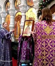 За праздничной литургией в Храме-на-Крови состоялась канонизация священника Александра Адрианова