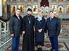 Актриса Елена Яковлева посетила Покровский храм
