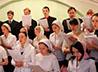 Приход храма святителя Луки организовал пасхальный концерт.
