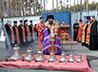 В Березовском освятили колокола храма на Северном кладбище
