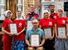 Православных добровольцев и сестер милосердия наградили за помощь нуждающимся во время пандемии