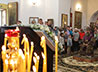 В праздник Изнесения Честны́х Древ Животворящего Креста Господня митрополит Кирилл совершил Божественную литургию в Свято-Троицком храме г. Арамиль