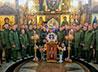 Храм-Памятник св. благоверного князя Димитрия Донского посетили курсанты Омского училища