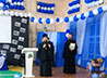 Настоятель храма Николая Чудотворца п. Сосьва принял участие в юбилее школы