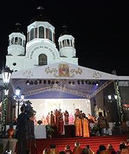 Божественную литургию у Храма на Крови в ночь с 16 на 17 июля возглавят восемь архиереев Русской Православной Церкви