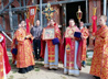 Престольное торжество в с. Мраморском отметили архиерейской Литургией