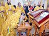 Андреевский храм коттеджного поселка Дубрава принял две великие святыни