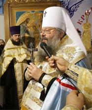 Митрополит Кирилл открыл православную ярмарку «Русь крещеная, Святая...»