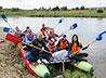 Туристический сплав по Нейве завершился уборкой исторического места
