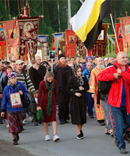 60 000 человек приняли участие в Царском крестном ходе