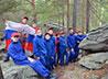 Маршрут выходного дня на Кырманские скалы осуществили суворовцы и их родители