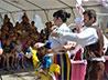 Каменская епархия устроила в селе Лебяжье праздник для детей украинских беженцев