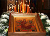 В Успенский храм г. Березовского прибыла чудотворная икона Божией Матери «Всецарица»