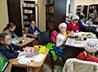 Акварельный мастер-класс провели для детей Успенского прихода г. Березовского