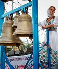 Российско-украинский дуэт выступил в рамках Х международного фестиваля колокольных звонов в Каменске-Уральском