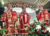 Военнослужащие ЦВО и сотрудники силовых структур приняли участие во Всенощном бдении в Храме-на-Крови