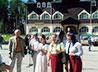 Монастырь на Ганиной Яме посетили представители знатных европейских фамилий