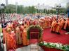 Всенощное бдение в канун дня памяти Царственных страстотерпцев возглавили десять архипастырей