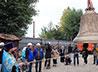 Шеститонный благовест украсил колокольню Успенского собора