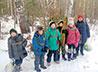 Кадеты ВПК «Ермаковский» осуществили учебно-полевой выход в лес