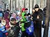Во Владимирском храме для детей провели спортивно-патриотическую игру «Зарница»