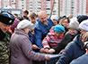 Жители Каменска-Уральского провели акцию в поддержку строящегося храма Иоанна Богослова