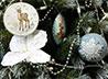 В монастыре вышивают елочные игрушки с традиционной рождественской символикой