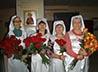 Сестры милосердия поздравили сотрудников травматологической больницы с днем медицинского работника