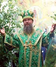 В день Святой Троицы митрополит Евгений совершил Божественную литургию в Свято-Троицком кафедральном соборе