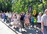 Воспитанники Богородице-Владимирского храма прошли крестным ходом от ст. Шарташ до Храма-на-Крови