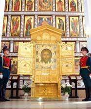 Главная икона Вооруженных Сил России «Спас Нерукотворный» прибудет в Екатеринбург