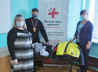 Волонтеры-медики передали в епархию теплую одежду для малоимущих