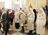 После долгого перерыва сестры милосердия собрались в храме на общую молитву