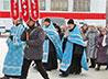 Престольный праздник местного храма жители Качканара отметили крестным ходом
