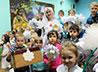 Дошкольники поучаствовали в акции «Белый цветок»