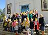 В первый учебный день воспитанники ирбитского храма поучаствовали в «Сотворении мира»