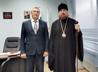 Епископ Алексий провел встречу с Управляющим администрацией Горнозаводского УО