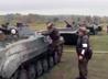 Курсанты Еланского учебного гарнизона сдали экзамен на право вождения БМП