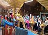 Воспитанники воскресной школы храма Александра Невского побывали в п. Сарана