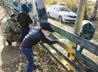Исетские кадеты привели в порядок приходское футбольное поле