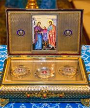 В Екатеринбургскую епархию будет принесен ковчег с частью Пояса Пресвятой Богородицы