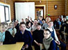 Школьники Лесного ГО побывали с паломничеством в нижнетуринском храме